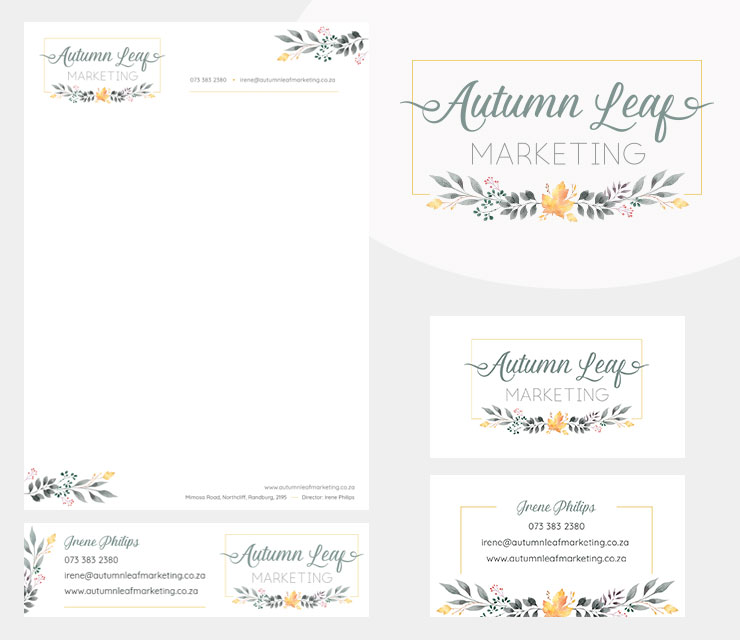 Autumn Leaf Corporate Identity